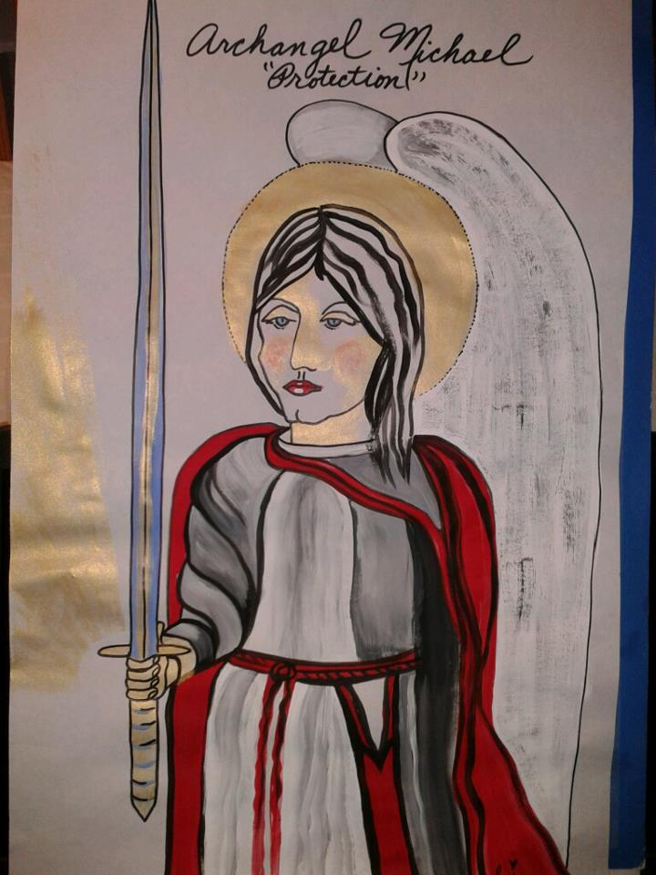 Archangel Michael, The Protector